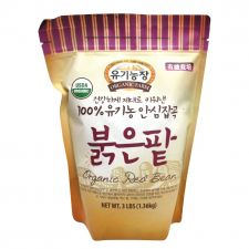 Organic Farm Organic Red Bean 3lb(1.36kg), 유기농장 100% 유기농 안심잡곡 붉은팥 3lb(1.36kg), 有機農場 Organic Red Bean 3lb(1.36kg)