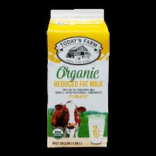 Today's Farm Organic 2% Milk 64 fl.oz(1.89L), 투데이즈팜 유기농 2% 저지방 우유 64 fl.oz(1.89L)