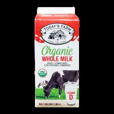 Today's Farm Organic Whole Milk 64 fl.oz(1.89L), 투데이즈팜 유기농 홀밀크 우유 64 fl.oz(1.89L)