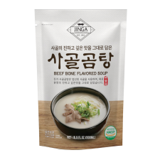 Beef Bone Soup 16.9 fl.oz(500ml), 진가 사골곰탕 16.9 fl.oz(500ml)
