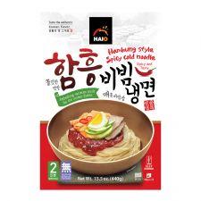 HAIO Hamhung Style Spicy Cold Noodle 15.5oz(440g), HAIO 함흥 비빔냉면 15.5oz(440g)
