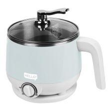 Hello Electric Multi Noodle Pot Cool Grey 50.72 fl.oz(1.5L), HELLO 멀티 라면포트 쿨그레이 50.72 fl.oz(1.5L)