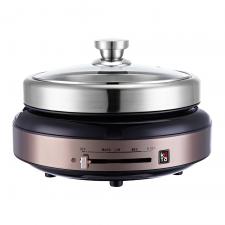 Koto Detachable Electic Hot Pot Rose Gold (SS304), Koto 분리형 전기 전골 냄비 로즈골드 (SS304)