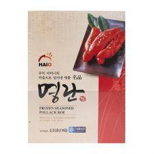 HAIO Frozen Seasoned Pollack Roe 2.2lb(1kg), 해오름 냉동 명란젓 2.2lb(1kg), HAIO 冷凍調味魚子醬  2.2lb(1kg)
