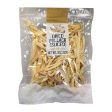 Tong Tong Bay Dried Sliced Pollack 8oz(227g), 통통배 북어채 8oz(227g)