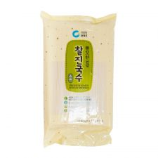 Chung Jung One Premium Somen Korean Noodles 3.3lb(1.5kg), 청정원 찰진국수 소면3.3lb(1.5kg)