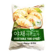 Ktown Vegetable Yaki Gyoza 1.1lb(500g), 케이타운 야채 야끼 교자 1.1lb(500g)
