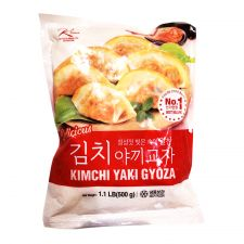 Ktown Kimchi Yaki Gyoza 1.1lb(500g), 케이타운 김치 야끼 교자 1.1lb(500g)
