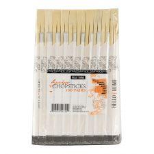 Hello Home Disposable Bamboo Chopsticks 100 Pairs, 헬로홈 일회용 대나무 젓가락 100개입