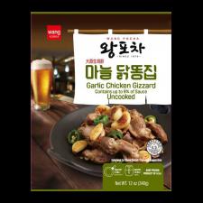 Wang Garlic Chicken Gizzard 12oz(340g), 왕포차 마늘 닭똥집 12oz(340g), Wang Garlic Chicken Gizzard 12oz(340g)