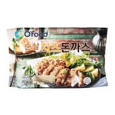 Chung Jung One O Food Cheese Porkcutlet 14oz(396g), 청정원 오푸드 순살 치즈돈까스 14oz(396g)