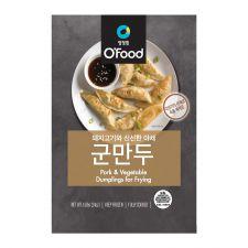 Chung Jung One O'Food Pork & Vegetable Crispy Dumplings 1.5lb(680g), 청정원 오푸드 군만두 1.5lb(680g), 淸淨園 O'Food Pork & Vegetable Crispy Dumplings 1.5lb(680g)