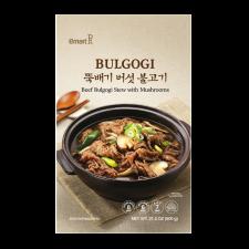 Beef Bulgogi Stew with Mushrooms 21.2oz(600g), 뚝배기 버섯 불고기 21.2oz(600g)