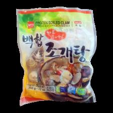 Wang Frozen Boiled Clam 12oz(340g), 왕 바로 끓여먹는 백합조개탕 12oz(340g), Wang Frozen Boiled Clam 12oz(340g)