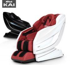 Hutech KAI Massage Chair (White&Burgundy), 휴테크 카이 안마의자 (화이트&버건디)