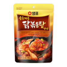 Sempio Spicy Chicken Stew Sauce 6.35oz(180g), 샘표 송추계곡 닭볶음탕 양념 6.35oz(180g)