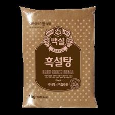 Beksul Dark Brown Sugar 2.2lb(1kg), 백설 흑설탕 2.2lb(1kg)