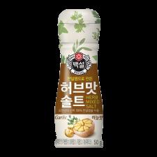 Beksul Seasoning Herb Salt Garlic flavor 1.77oz(50g), 백설 허브맛 솔트 마늘맛 1.77oz(50g)