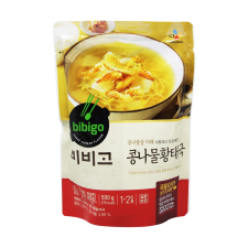 CJ Bibigo Dried Pollock Soup 17.6oz(500g), CJ 비비고 콩나물 황태해장국 17.6oz(500g)