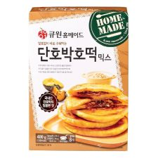 Q1 Sweet Pumpkin Korean Pancake Mix 19.4oz(550g), 큐원 단호박호떡 믹스 19.4oz(550g)