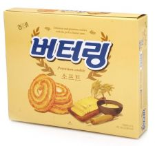 Haitai Butterring Cookie Big Size 10.65oz(302g), 해태 버터링 빅사이즈 10.65oz(302g), 海太 奶油餅乾 (大盒裝) 10.65oz(302g)