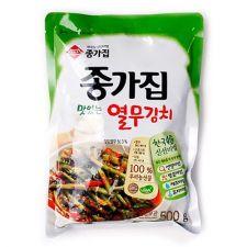 Chongga Young Radish Leaves Kimchi 17.6oz(500g), 종가집 열무김치 17.6oz(500g)