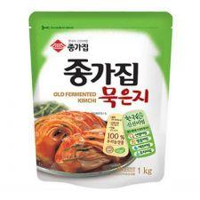 Chongga Fermented Kimchi (Muk Eun Ji) 2.2lb(1kg), 종가집 종가 묵은지 2.2lb(1kg)
