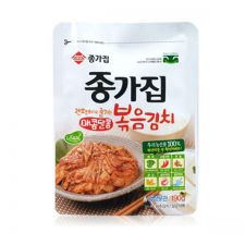 Chongga Fried Kimchi 6.7oz(190g), 종가집 새콤달콤 볶음김치 6.7oz(190g)