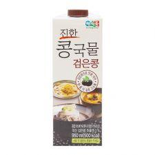 DR. J  Black Bean Soup for Noodle 32oz(950ml), 정식품  진한 콩국물 검은콩 32oz(950ml)