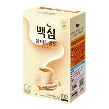 Maxim White Gold Coffee Mix 0.42oz(12g) 100 Sticks, 맥심 화이트골드 커피믹스 0.42oz(12g) 100개입