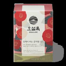 Osulloc Camelia Flower Blooming Forest Tea 0.63oz(0.06oz X 10 Tea Bags), 오설록 동백이 피는 곶자왈 18g(1.8g X 10티백)
