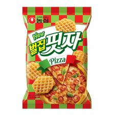 Nongshim Beol Jib Pizza Snack 3.17oz(90g), 농심 벌집피자 3.17oz(90g)