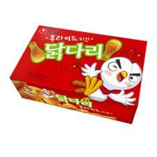 Nongshim Fried Chicken Flavor Snack 2.32oz(66g), 농심 닭다리 후라이드 2.32oz(66g)