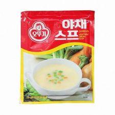 Ottogi Vegetable Cream Soup 2.82oz(80g), 오뚜기 야채 스프 2.82oz(80g)