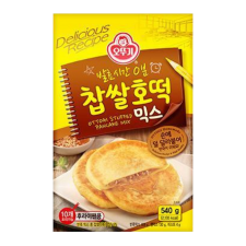 Ottogi Stuffed Pancake Mix 19.04oz(540g), 오뚜기 찹쌀 호떡 믹스 19.04oz(540g)