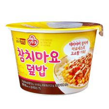 Ottogi Cooked Rice and Teriyaki Tuna with Mayonnaise 8.71oz(247g), 오뚜기 참치마요덮밥 컵밥 8.71oz(247g)