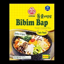 Ottogi Frozen Cooked Rice Bibim Bap Smoky & Spicy 15.87oz(450g), 오뚜기 돌솥비빔밥 15.87oz(450g)