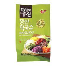 Dongwon Makguksu Buckwheat Noodles 14.28oz(405g), 동원 면발의 신 쟁반 막국수 14.28oz(405g)