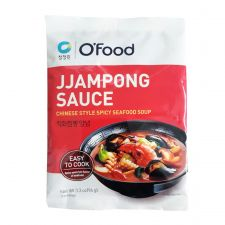 Chung Jung One Chinese Style Spicy Seafood Soup Powder 3.3oz(94g), 청정원 직화 짬뽕분말 3.3oz(94g)