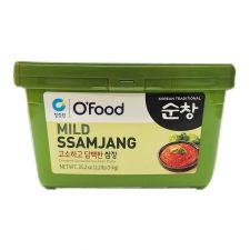 Chung Jung One Mild Ssamjang (Original Seasoned Soybean Paste) 2.2lb(1kg), 청정원 고소하고 담백한 쌈장 2.2lb(1kg)