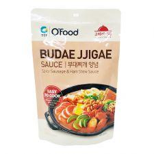 Chung Jung One O'Food Spicy Sausage & Ham Stew Sauce 4.94oz(140g), 청정원 오푸드 부대찌개 양념 4.94oz(140g)