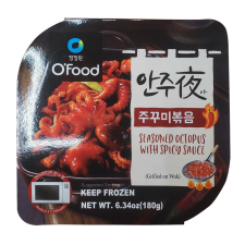 Seasoned Small Octopus with Spicy Sauce 6.34oz(180g), 안주야 쭈꾸미볶음 6.34oz(180g)