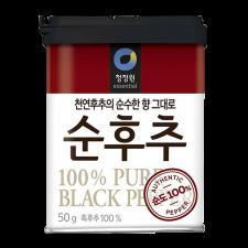 Chung Jung One Pure Ground Black Pepper 1.76oz(50g), 청정원 순후추 1.76oz(50g)