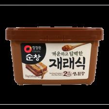 Chung Jung One Soonchang Soybean Paste 2.2lb(1kg), 청정원 순창 재래식 생된장 2.2lb(1kg)