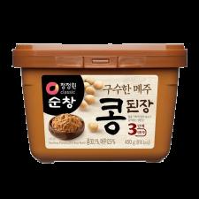 Chung Jung One SoonChang Soy Bean Paste 15.9oz(450g), 청정원 순창 구수한 메주 콩 된장 15.9oz(450g)