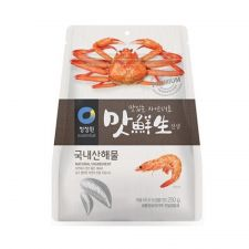 Chung Jung One Seafood Spice Mix 8.82oz(250g), 청정원 맛선생 국내산 해물 8.82oz(250g)