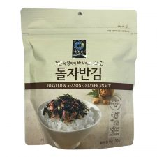 Chung Jung One Roasted & Seasoned Laver Snack 1.05oz(30g), 청정원 돌자반김 1.05oz(30g)