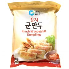 Chung Jung One Kimchi & Vegetable Dumplings 24oz(680g), 청정원 김치 군만두 24oz(680g)
