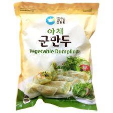 Chung Jung One Vegetable Dumplings 24oz(680g), 청정원 야채 군만두 24oz(680g)