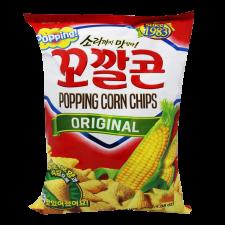 Lotte Corn Snack Big Size 5.08oz(144g), 롯데 꼬깔콘 고소한맛 빅사이즈 5.08oz(144g)